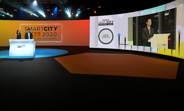 Shanghai chosen Smart City of 2020 at Smart City Live