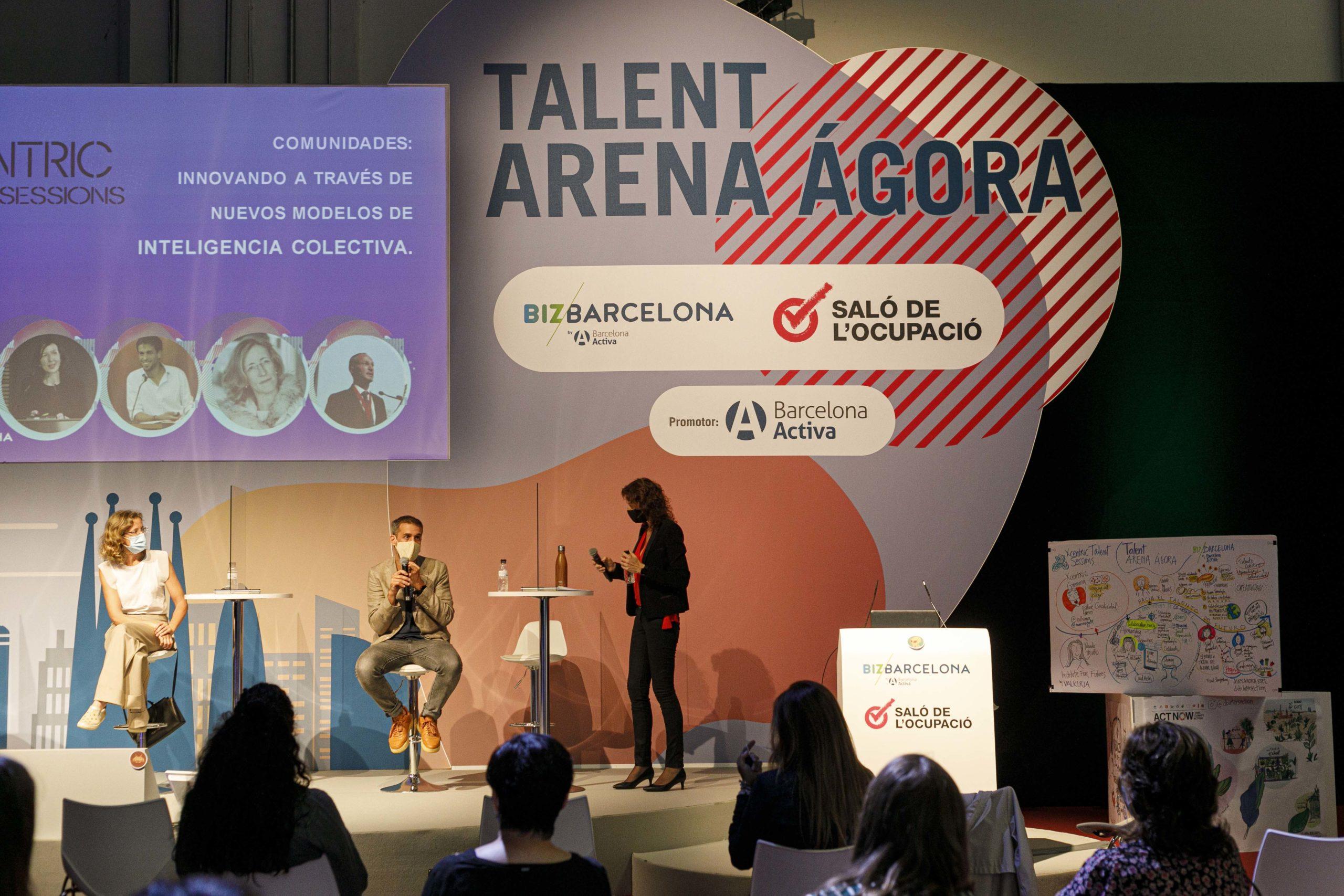 Talent Arena en Bizbarcelona y Saló Ocupació 2020