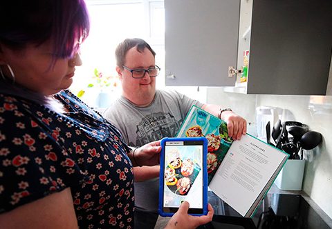 Vodafone and Mencap Connected Living
