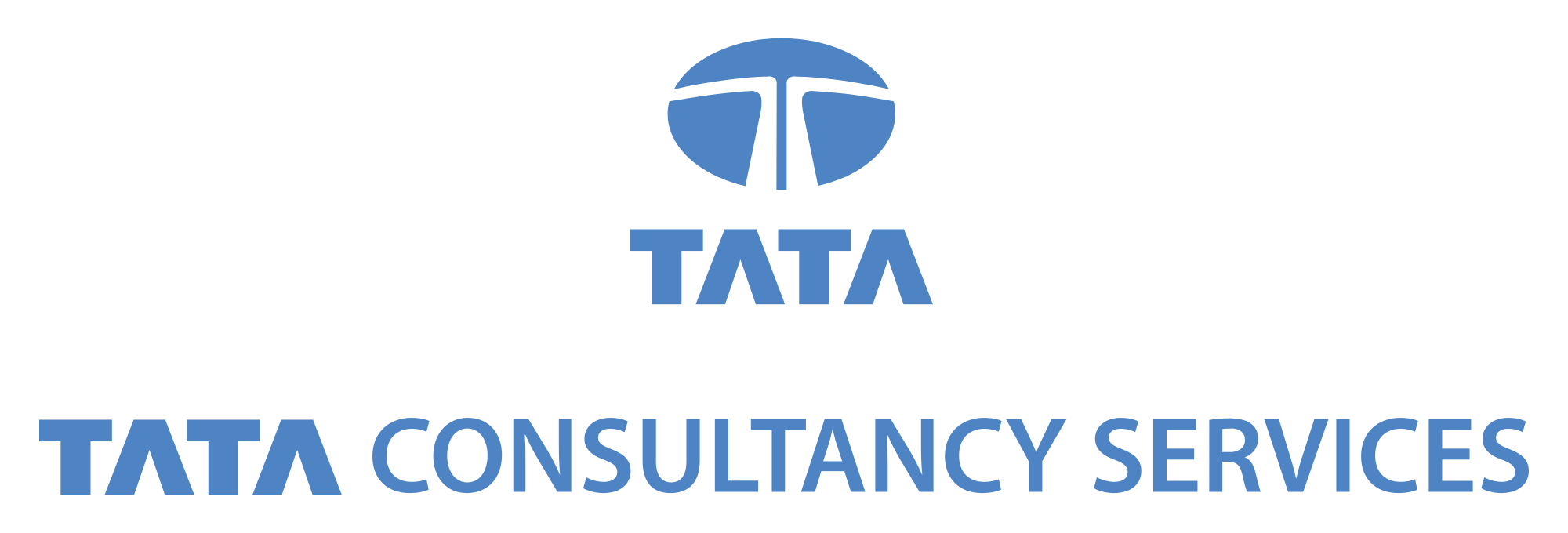 Tata Consultancy Services Logo Blue